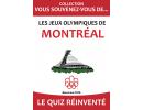 QUIZ Jeux Olympiques de Montréal